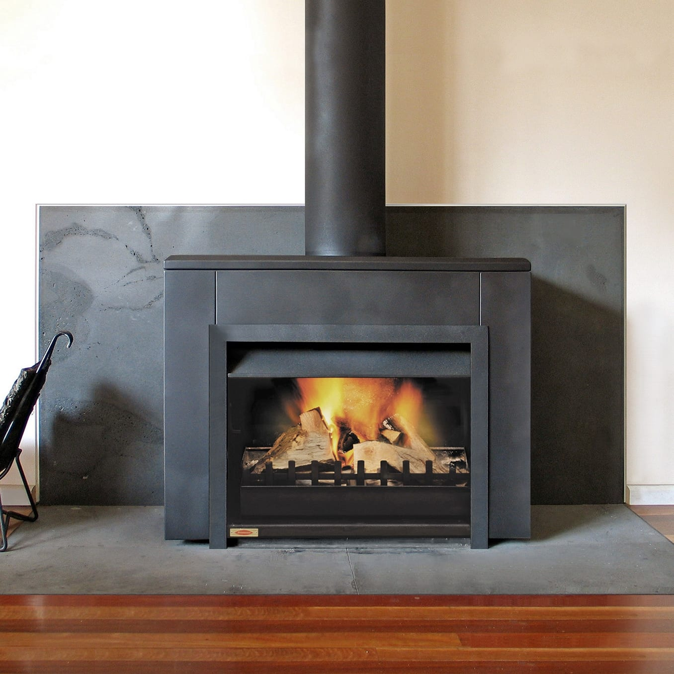 Jetmaster 700d Freestanding Wood Fire Package Turfrey Plumbing Gasfitting Roofing Heating Drainage