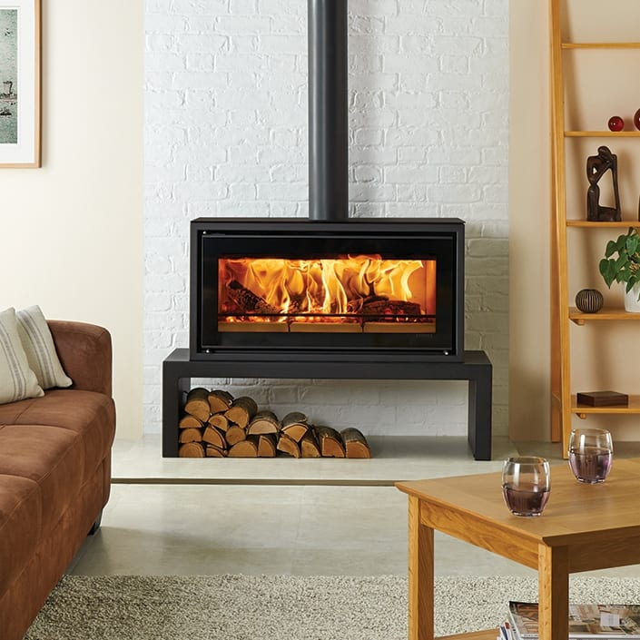 Stovax Riva Studio 2 Rural Freestanding Wood Fire Package Turfrey Plumbing Gasfitting Roofing Heating Drainage